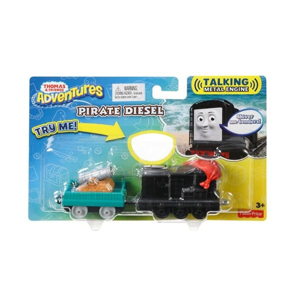 Thomas and Friends Adventures Pirate Diesel Talking Metal Engine