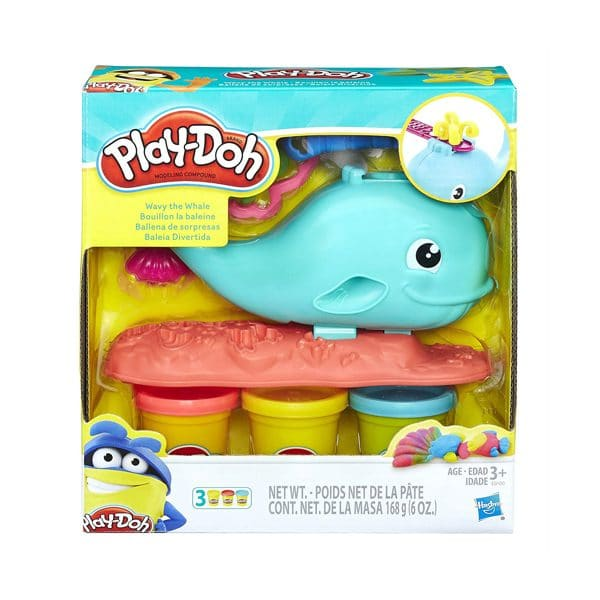 Wavy the Whale Play Doh
