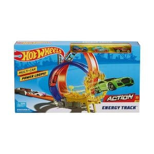 Hot Wheels Energy Track play  Set with 3 Cars