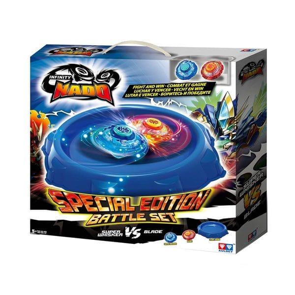 Infinity Nado Super Whisker and Blade Battle Set Special Edition Battle Set
