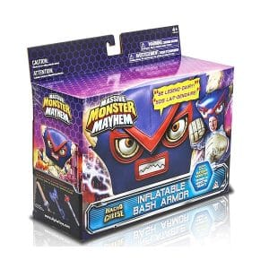 Massive Monster Mayhem  Macho Cheese Inflatable Bash Armor