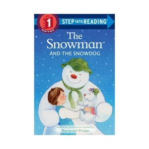 Snowman and the Snowdog Hardcover Step into Reading Step 1