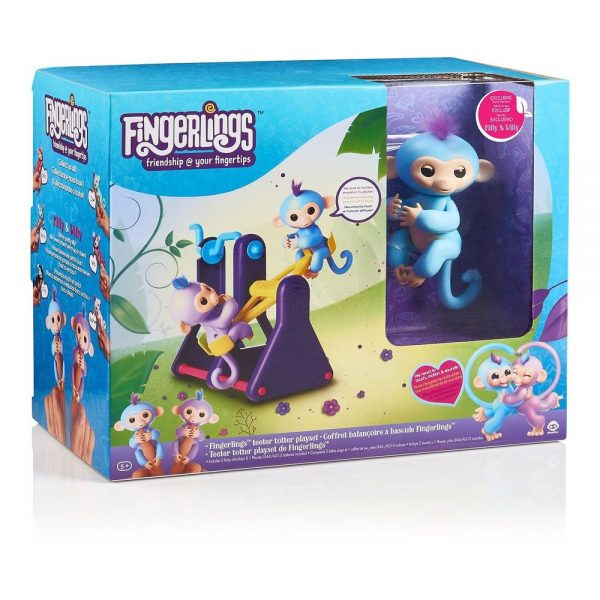 Fingerlings Teeter Totter Playset