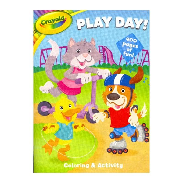 Crayola Play Day Coloring And Activity