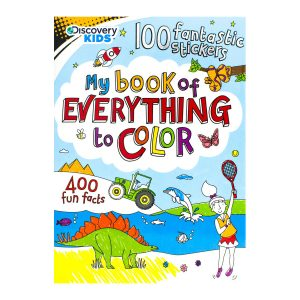 Discovery Kids My Book of Everything to Color