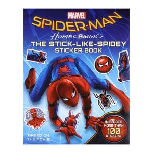 Spider-Man The Stick Like Spidey Sticker Book