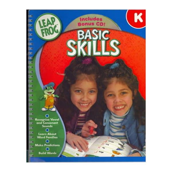 Leap Frog Basic Skills kindergarten Workbook