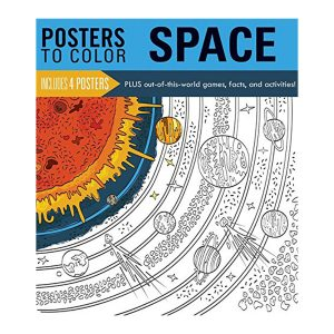 Posters to Color SPACE