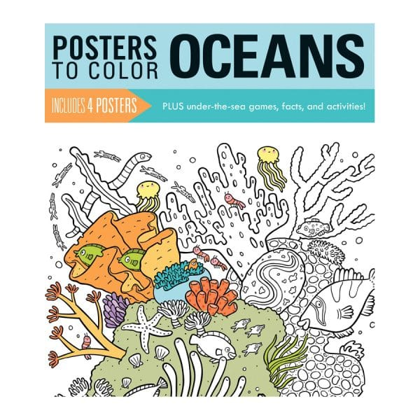 Posters to Color Oceans