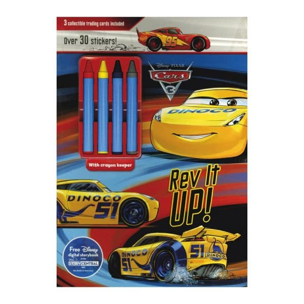Rev It Up Coloring n Activity Book