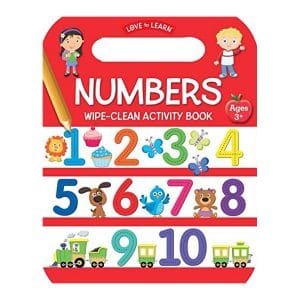 Numbers Wipe Clean Activity Book