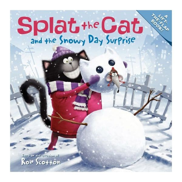 Splat the Cat and the Snowy Day Surprise