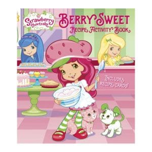 Berry Sweet Recipe Activity Book Strawberry Shortcake