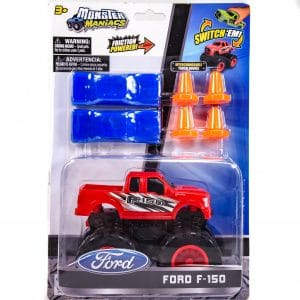 Monster Maniacs Ford F-150 Playset Red