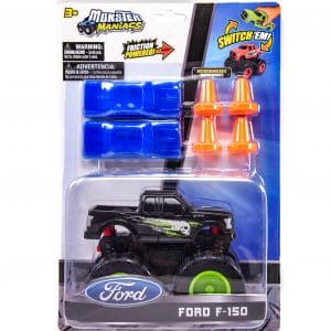 Monster Maniacs Ford F-150 Playset Black
