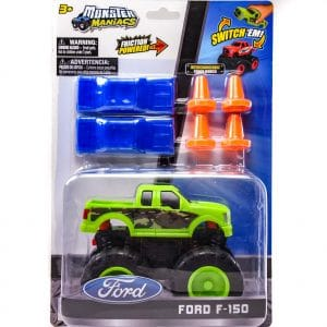 Monster Maniacs Ford F-150 Playset Green