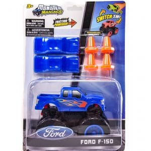 Monster Maniacs Ford F-150 Playset Blue