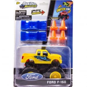 Monster Maniacs Ford F-150 Playset Yellow