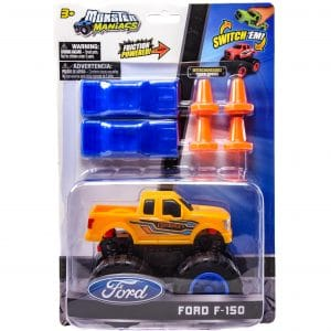 Monster Maniacs Ford F-150 Playset Orange