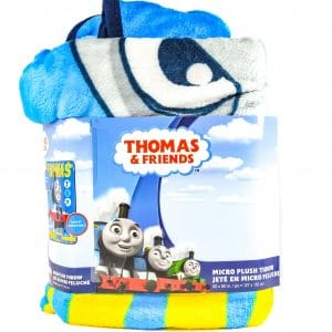 Thomas and Friends Micro Plush Throw Twin