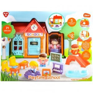 Playgo Playtime School Playset