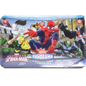 Spiderman 3 Puzzle Panorama in a Tin