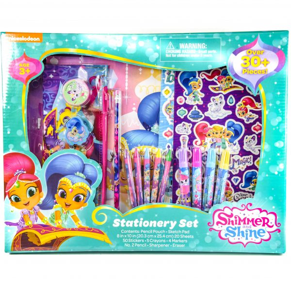 Shimmer and Shine Stationery Set