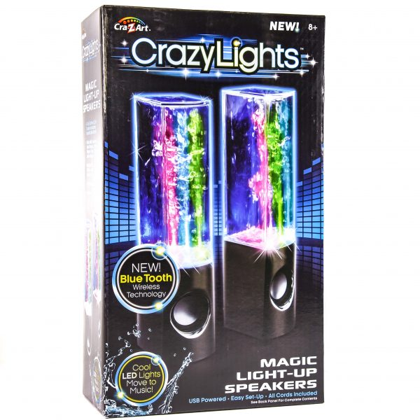Crazy Lights Magic Light-up Speakers