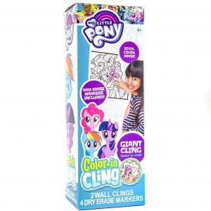 My Little Pony Color-in Cling