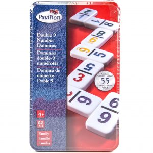 Double 9 Dominos Tin Game