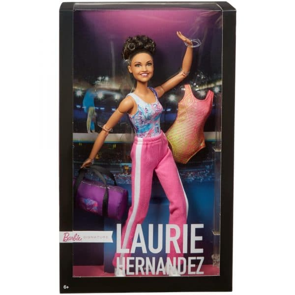 Barbie Gymnast Doll Laurie Hernandez