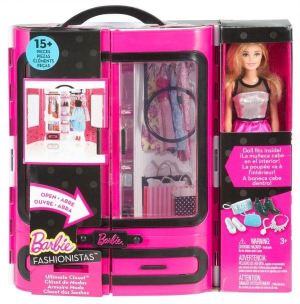 Wonderful barbie fashionistas ultimate closet