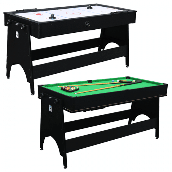 Air King 2-in-1 Air Hockey and Pool Combo