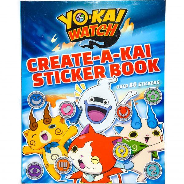 Yo-Kai Watch Create-A-Kai Sticker Book
