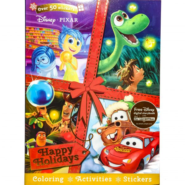 Disney Pixar Christmas Happy Holidays