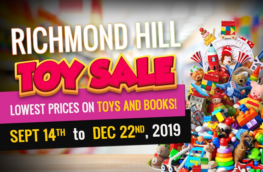 Richmond Hill Toy Sale