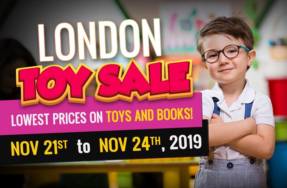 London Toy Sale