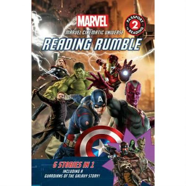Marvel Reading Rumble 6-in-1