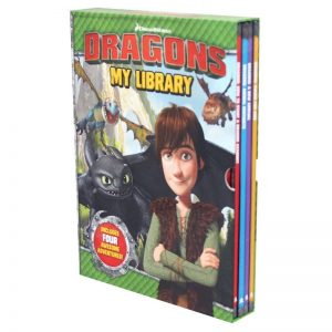 Dreamworks Dragons - 4 Books