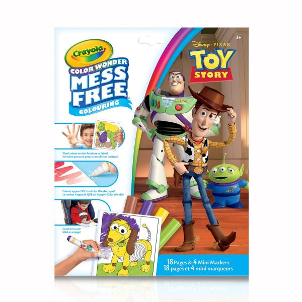 Crayola Colour Wonder Mess Free Toy Story