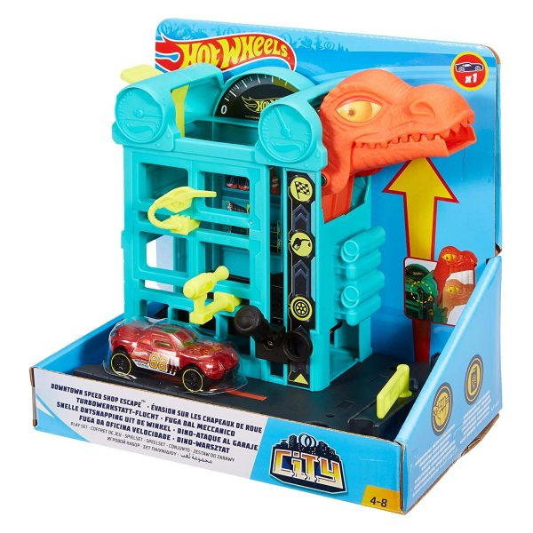 Hot Wheels Downtown Speed Shop Escape