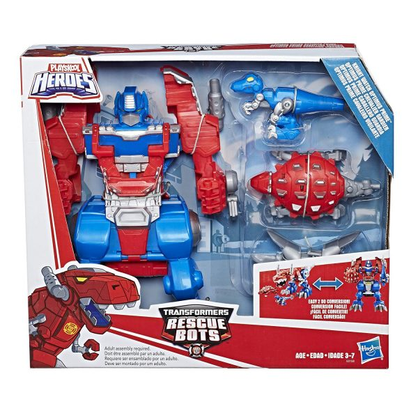 Rescue Bots Knight Watch Optimus Prime