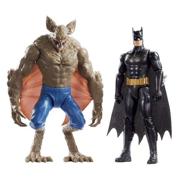 DC Batman and Man-Bat Figures