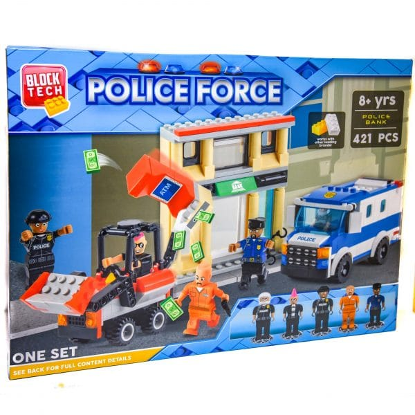 Block Tech Police Force