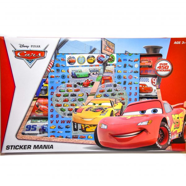 Disney Cars Sticker Mania