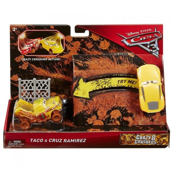 Disney Cars Taco and Cruz Ramirez
