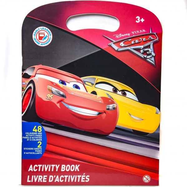 Disney Cars Activity Book
