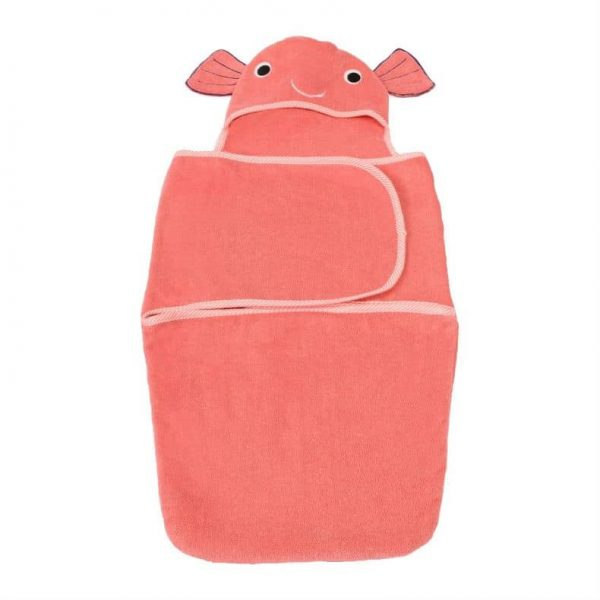 Baby Girl Bath Towel