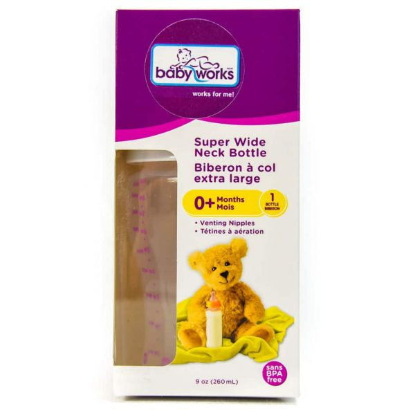 Baby Bottle Super Wide Neck