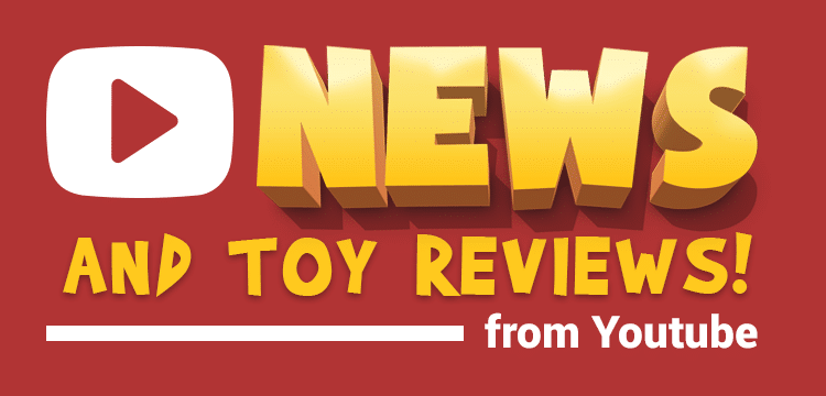 Latest Toy Reviews from Youtube